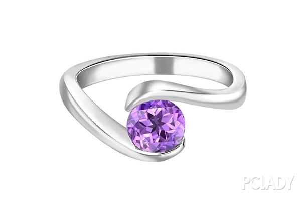 紫色蓝宝石