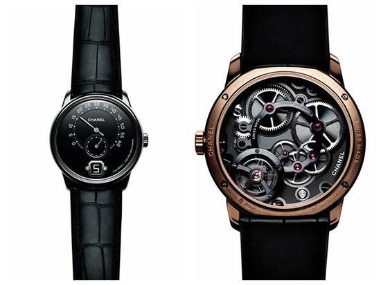 香奈儿MONSIEUR DE CHANEL男士腕表,限量发行100枚,售价60000欧元。