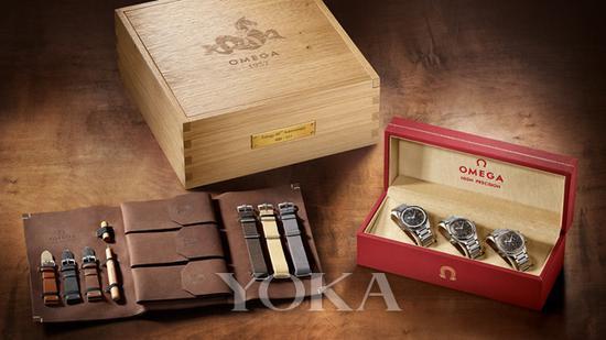 欧米茄1957年三大经典腕表限量版套装礼盒
