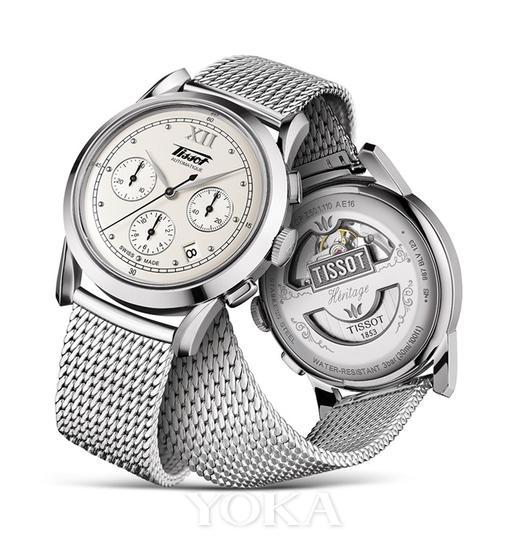 天梭怀旧经典1948系列腕表
