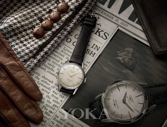 浪琴表军旗系列60周年限量款复刻腕表