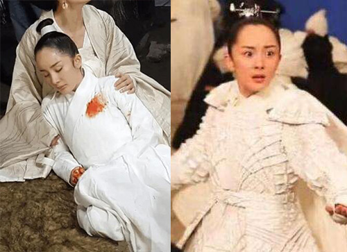 杨幂《三生三世十里桃花》发际线遭吐槽