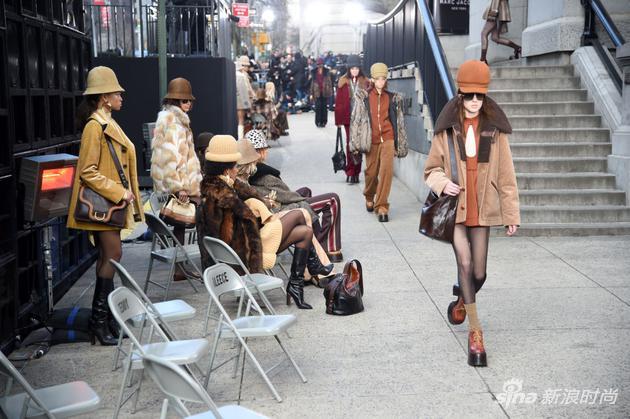 Marc Jacobs 2017秋冬纽约时装周大秀