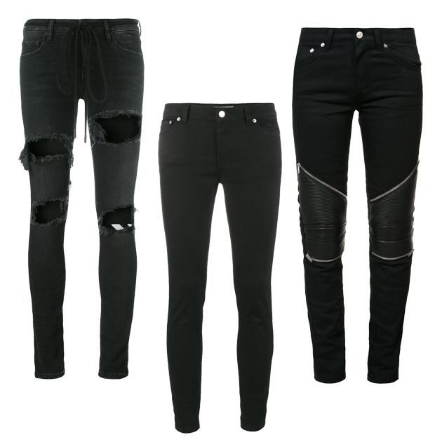深色牛仔裤单品推荐