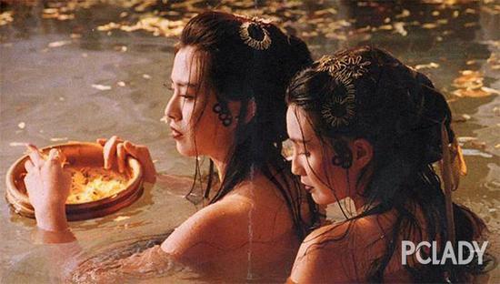 王祖贤和张曼玉在《白蛇传》