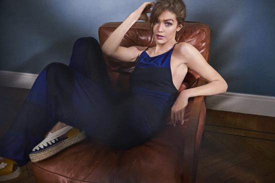 超模Gigi Hadid等杂志封面