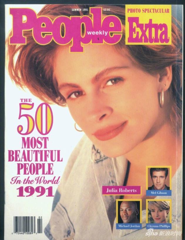 1991年,罗伯茨第一次登上People全球最美女人特刊封面
