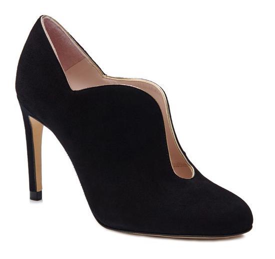 黑玫瑰花苞鞋