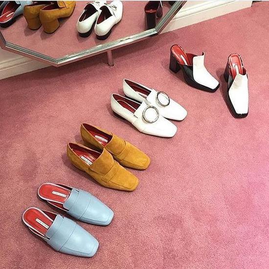 dorateymur的皮拖鞋和乐福鞋