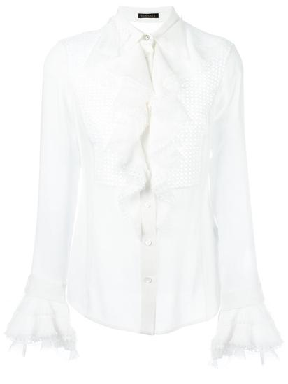 Versace 荷叶边衬衫 约¥15521