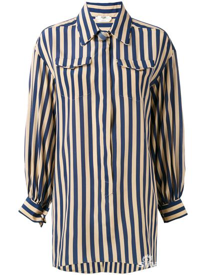 Fendi 条纹长袖衬衫 约¥14426