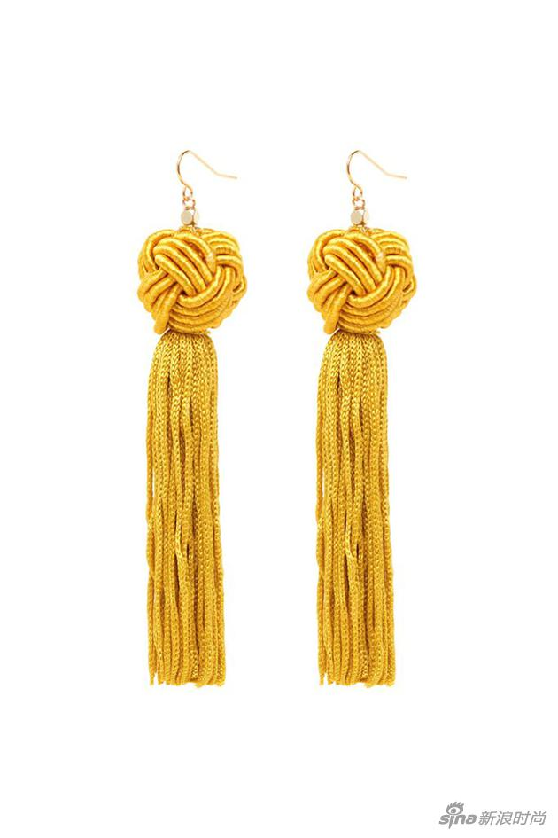 Tassel Earrings, $45;
