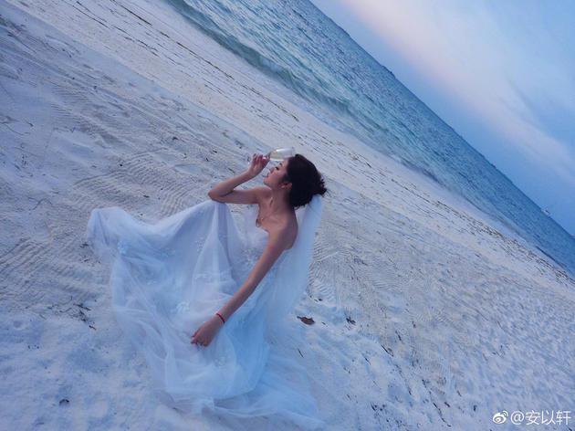 安以轩婚纱照