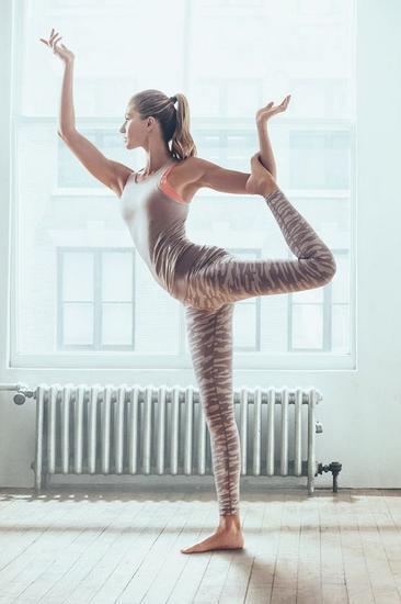 瑜伽、运动什么的,都是生活常态