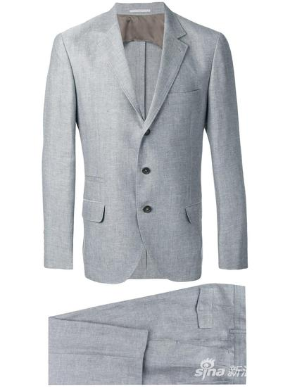 Brunello Cucinelli 两件式西装套装 约¥35290