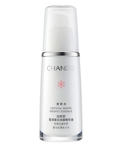 CHANDO自然堂 雪润皙白深澈精华液 210元