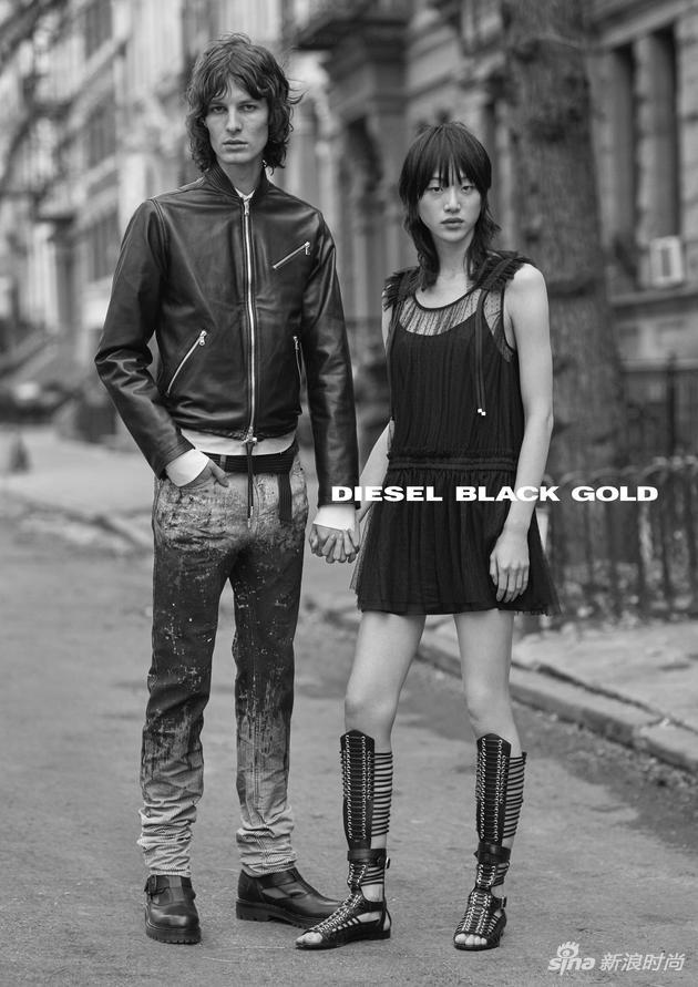 DIESEL BLACK GOLD 2017春夏系列广告大片