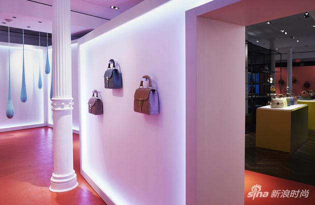 SPRING STREET DK88系列手袋创意体验专区
