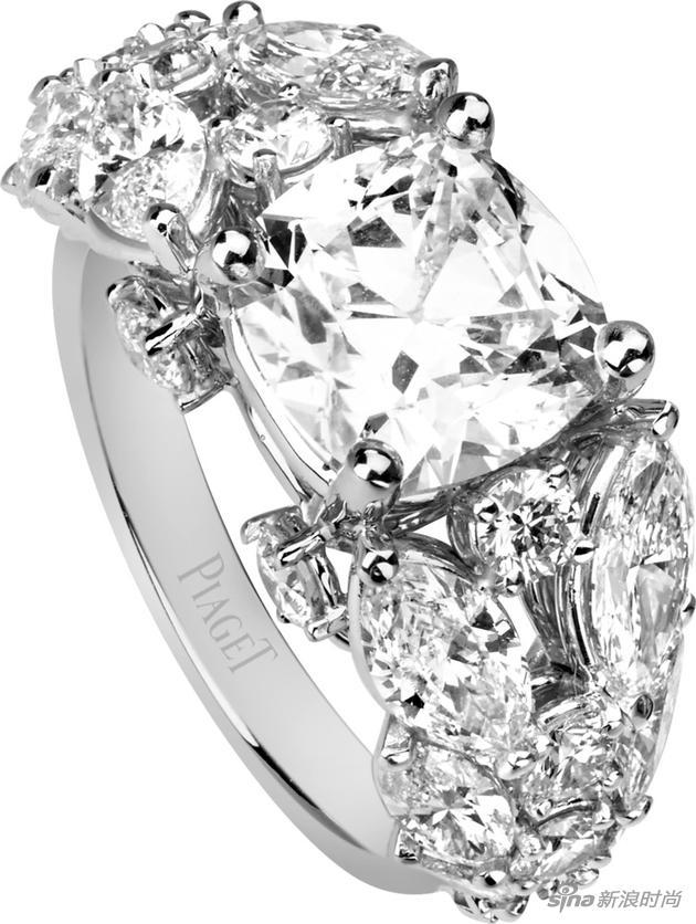 Piaget伯爵Limelight Couture Précieuse高级珠宝戒指
