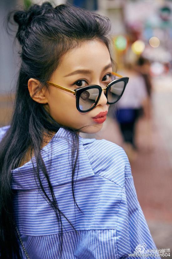 孙怡(图片来源:嘉人)