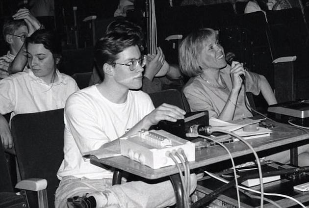 马克龙年约15岁时认识特罗尼厄