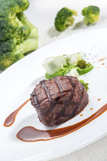 两种食材菜单: 牛肉 西兰花