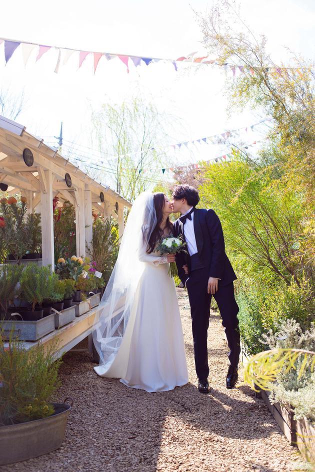 林宥嘉丁文琪在日本办婚礼