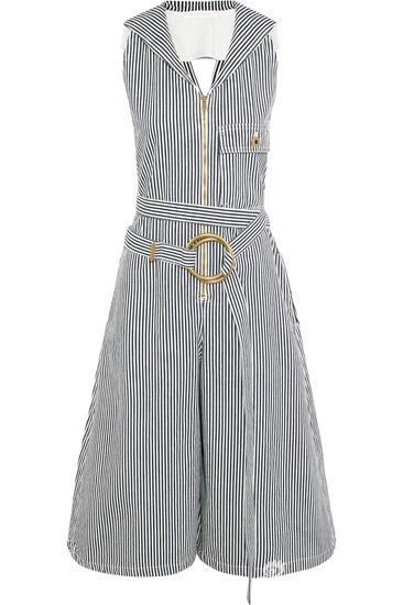 Chloé 条纹连身裤 约¥8731