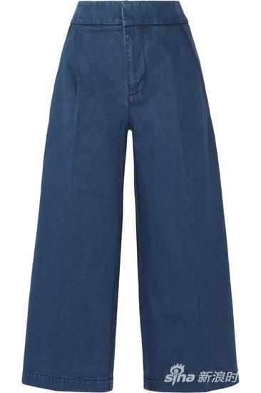Marni 牛仔七分阔腿裤 约¥5208