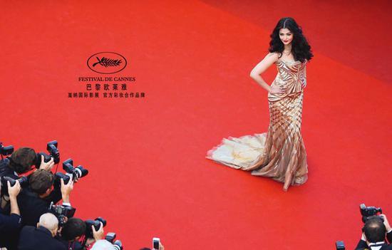 那些年 走过欧莱雅戛纳电影节红毯的国际巨星们