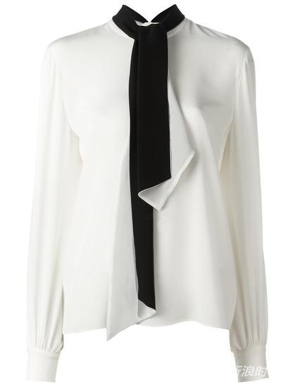 Lanvin 领结罩衫 约¥11280