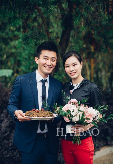 吴敏霞和老公 求婚