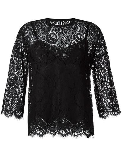 Dolce & Gabbana 蕾丝上衣 约¥11748