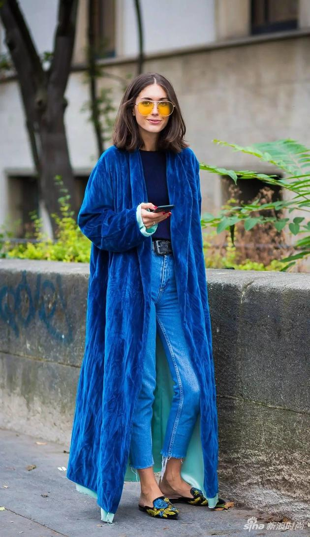 Diletta Bonaiuti,Glamour等众多时装博主身着ATTICO