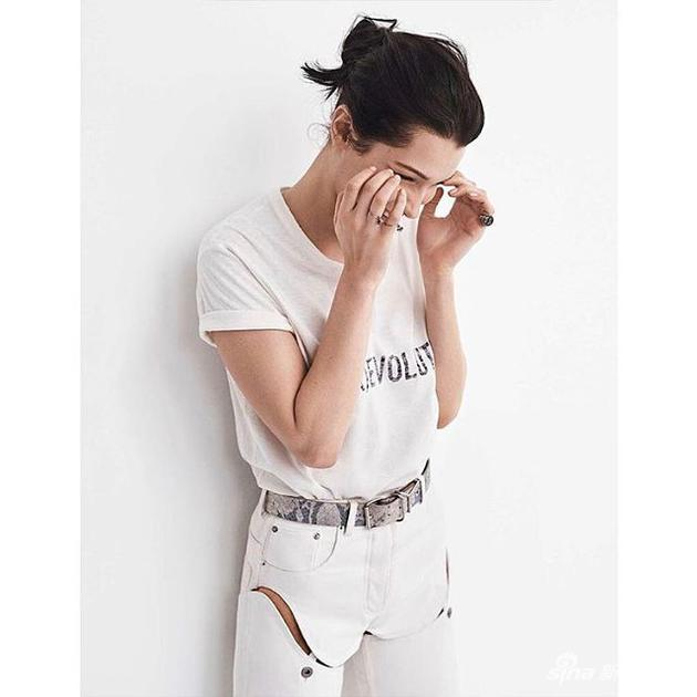 Bella Hadid in YProject pants