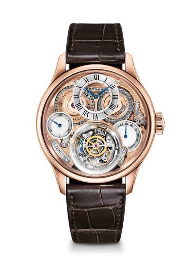 真力时尊贵系列哥伦布飓风腕表,售价人民币1720000元