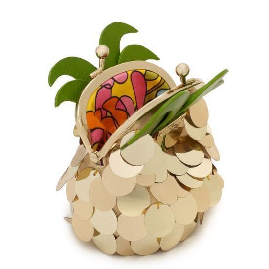 菠萝造型的零钱包