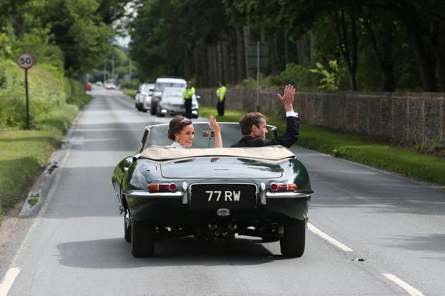 33岁的Pippa Middleton与41岁的富商男友James Matthews