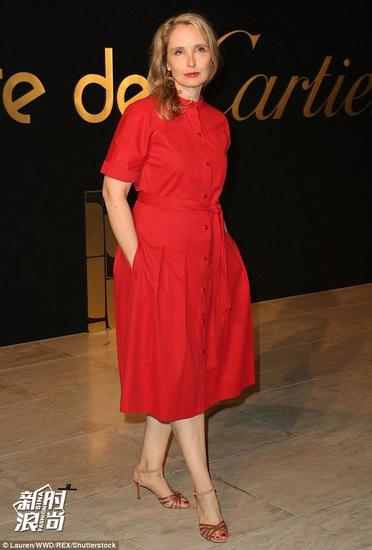 Cartier红的连衣裙