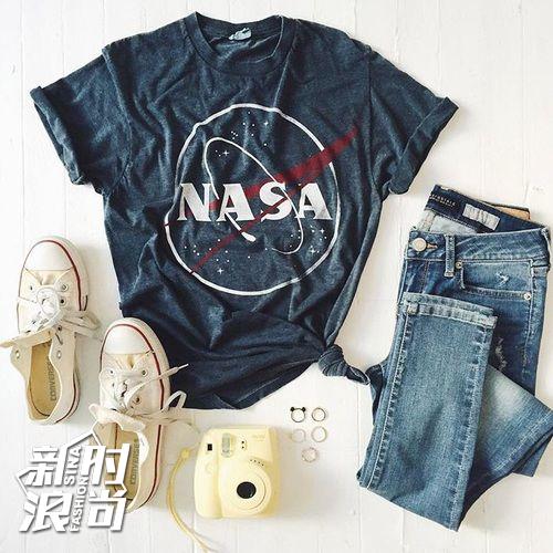 NASA T恤也火爆