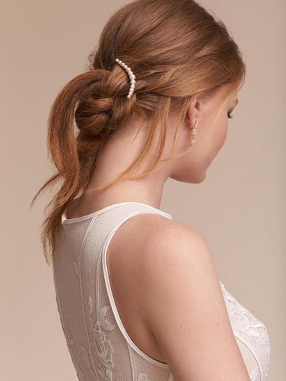 10款新娘珍珠发饰让你的婚礼完美升级