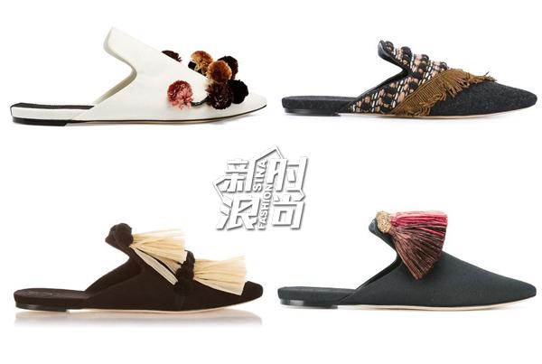 Sanayi313皮拖鞋
