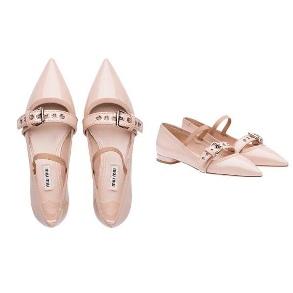 Miu Miu芭蕾舞鞋