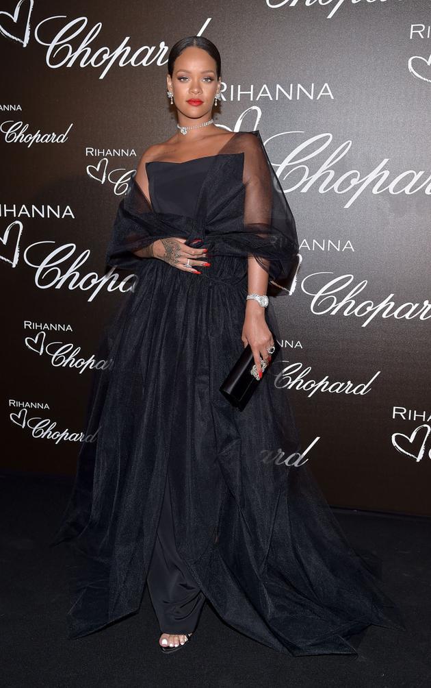 """Rihanna Loves Chopard""的珠宝系列发布会"
