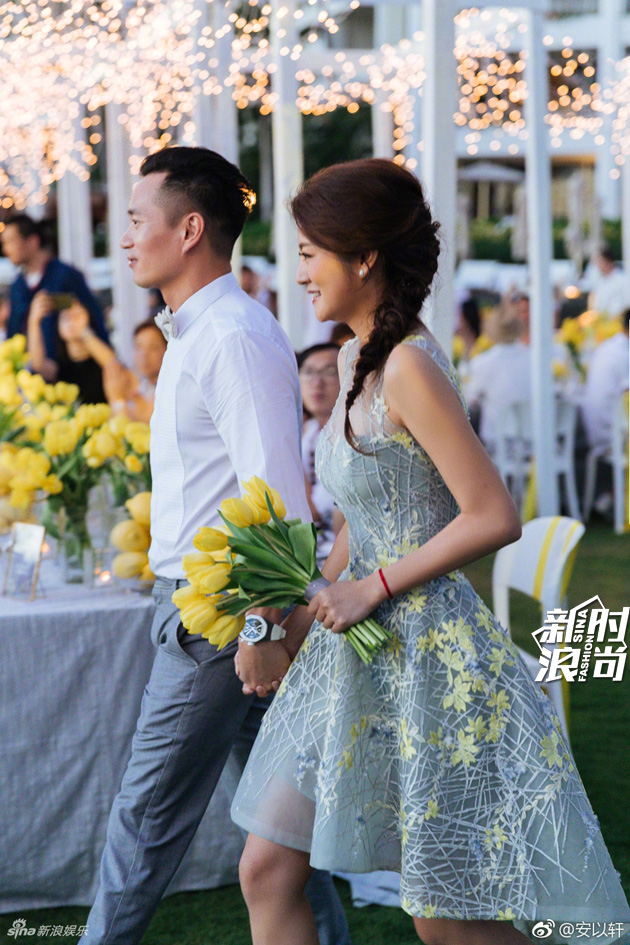 安以轩大婚伴娘也上热搜 都怪她们美得太耀眼 娱乐八卦 图11