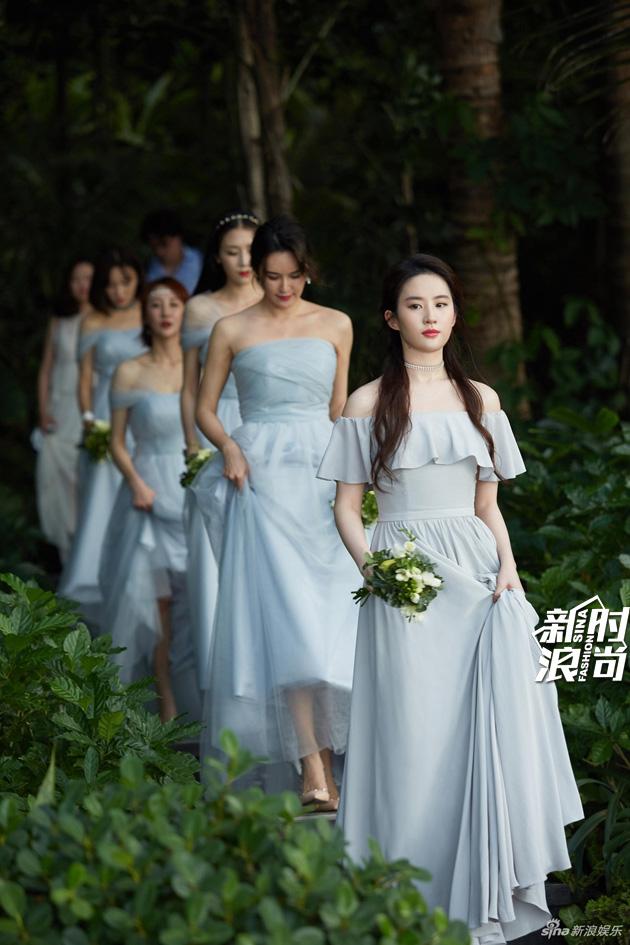 安以轩大婚伴娘也上热搜 都怪她们美得太耀眼 娱乐八卦 图20