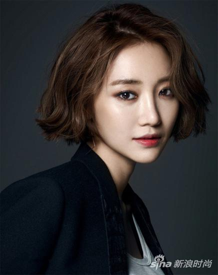 高俊熙堪称韩国最美短发女明星.图片