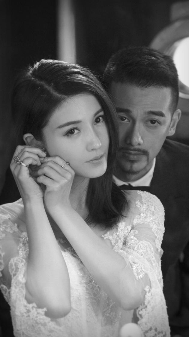杨子姗创意婚纱照正式曝光