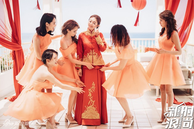安以轩大婚伴娘也上热搜 都怪她们美得太耀眼 娱乐八卦 图14