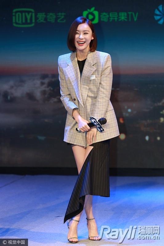 关关江疏影的时尚秘籍 西装搭热裤是标配 服饰潮流 图7